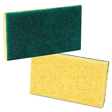 Medium-Duty Scrubbing Sponge - 20 Pack