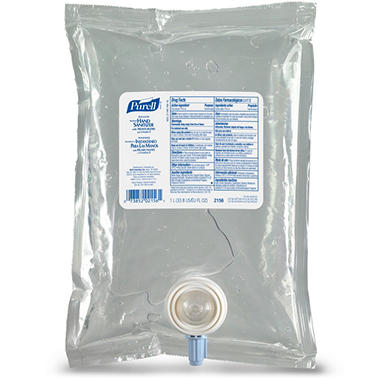 Purell Advanced Instant Hand Sanitizer NXT Refill - 1,000mL Pouch - 8 pk.