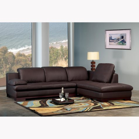 Montgomery Functional Leather Sectional