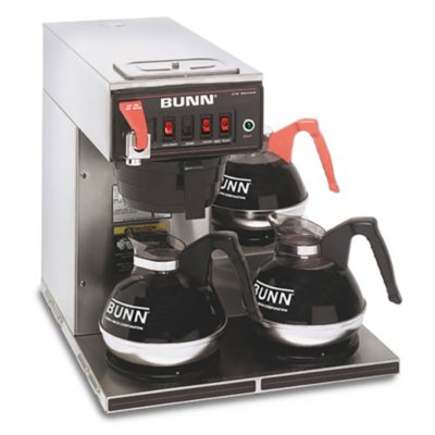 Bunn Coffee Maker At Sam S Club : Bunn CWTF15 12-Cup Automatic Brewer with 3 Warmers - Sam s Club