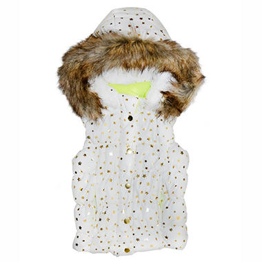 Girl's Puffer Vest (Assorted Colors)