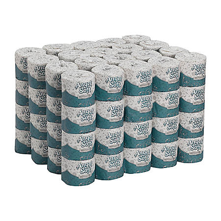 Angel Soft Professional Series® Premium 2-Ply Toilet Paper, 450 Sheets, 80 Rolls