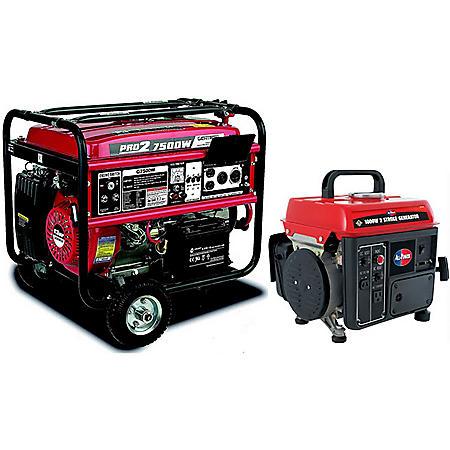 Gentron 7500W / All Power 1000W Generator Bundle