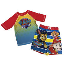 Paw Patrol Rash Guard And Swim Trunk Set