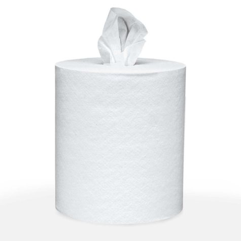 Scott - Roll-Control Center-Pull Towels, 8 x 12, White, 700/Roll -  6 Rolls/Carton