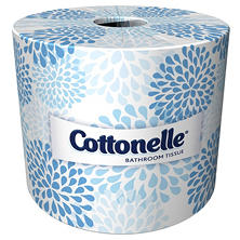 Cottonelle Bathroom Tissue, 2-Ply (451 sheets/roll, 60 rolls/cart)
