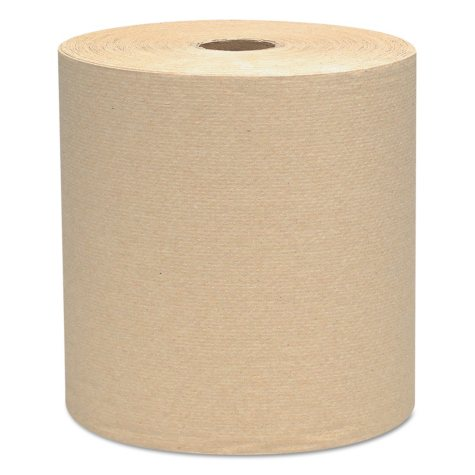 Kimberly-Clark Professional - SCOTT Hard Roll Towels, 8 x 800ft, Natural -  12 Rolls/Carton