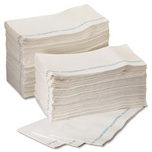 WypAll X80 Foodservice Towels Extended-Use Wipers with Anti-Microbial, White, 150 sheets (1 box)