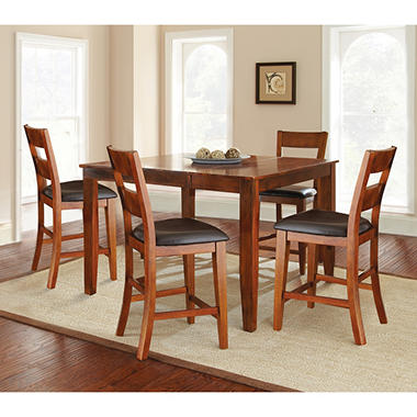 Weston Counter Height Dining Set   Mango (5 Pc.)