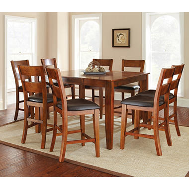 Weston Counter Height Dining Set   Mango (9 Pc.)