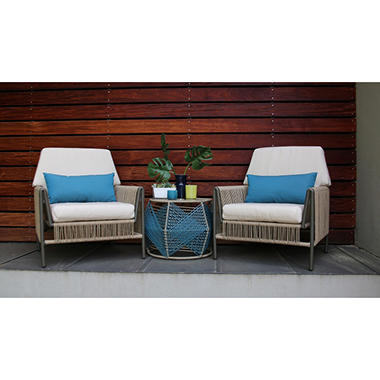 Linear 3-Piece Seating Set