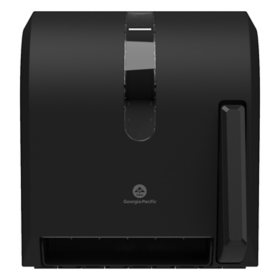 Georgia Pacific Roll Towel Dispenser - Hygenic Push-Paddle - Translucent Smoke