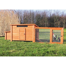 Trixie Chicken Coop with Outdoor Run Bundle