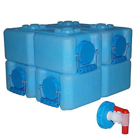 WaterBrick Storage Container (3.5 gallon, 4 pk.)