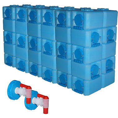 WaterBrick Storage Container (3.5 gallon, 30 pk.)