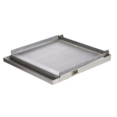 Four Burner Griddle + Grease Tray