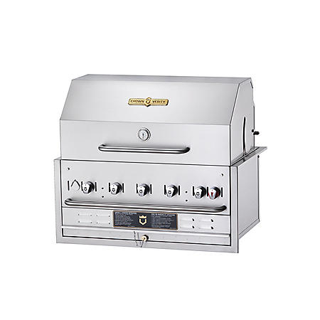 """Crown Verity 36"""" Built-in Gas Grill"""