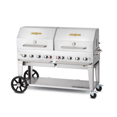 """Elite Package 60"""" Stainless Steel Natural Gas Grill"""