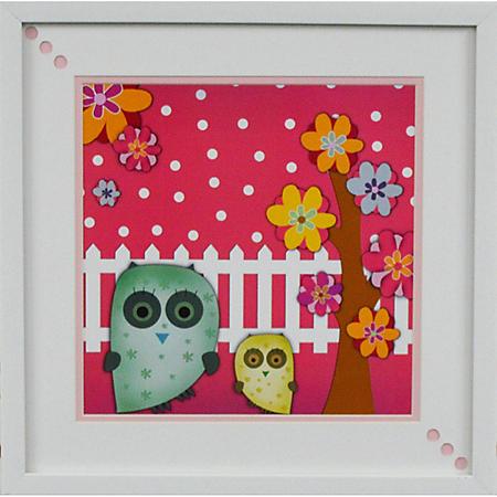 OWLS PTM WALL ART