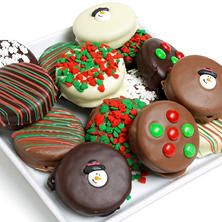 Holiday Belgian Chocolate Covered Oreo Cookies (12 pc.)