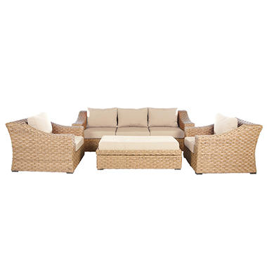 Elizabeth 6-Piece Deep Seating Set, Assorted Colors