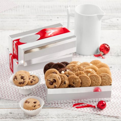 Mrs. Fields Nibblers Striped Gift Box (Case of 20, 24 ct.)