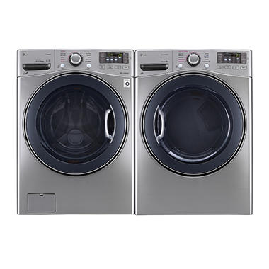 Ultra Large Capacity Front Load Washer With Turbowash And