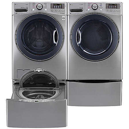 Lg Ultra Large Capacity Front Load Washer Sidekick