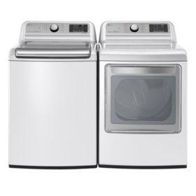 Lg Mega Capacity Top Load Washer With Turbowash And