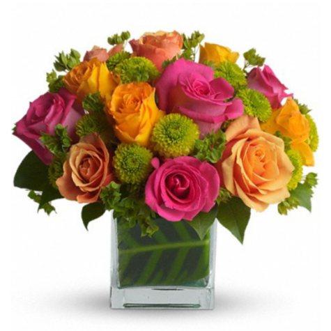 Color Me Rosy Bouquet