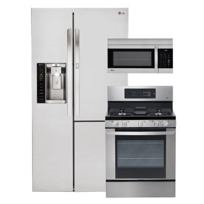 LG Side By Side Refrigerator With Door In Door, Single