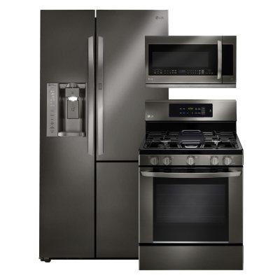 LG Side By Side Refrigerator With Door In Door, Single