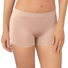 Ellen Tracy Essentials 4-Pack Seamless Boyshort (Assorted Colors)