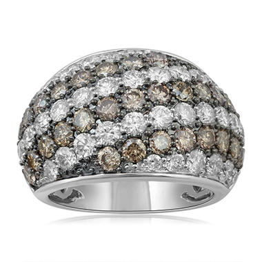 4.00 ct. t.w. Pave Diamond Fashion Ring in White Gold