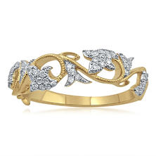 .25 ct. t.w. Diamond Fashion Ring in Yellow Gold