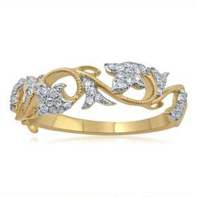 .25 ct. t.w. Diamond Fashion Ring in Yellow Gold