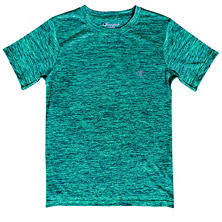 Champion Boy's Linear Heather Active Tee