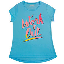 Skechers Girls' Printed Active Tee