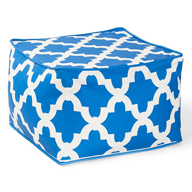 Memory Foam Pouf Ottoman - Various Colors