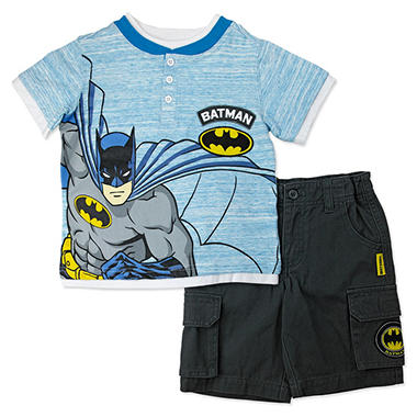 Boys' Batman 2-Piece Short Set