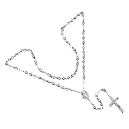 Men's Stainless Steel Rosary
