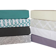 6-Piece Luxury Sheet Set  (Assorted Colors and Sizes)