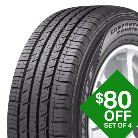 Goodyear Comfortred Touring - 225/45R17 91V Tire