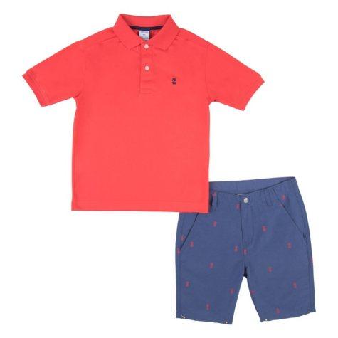 IZOD Boys' Polo and Short Set