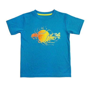 Champion Boy's Graphic Tee - Turquoise