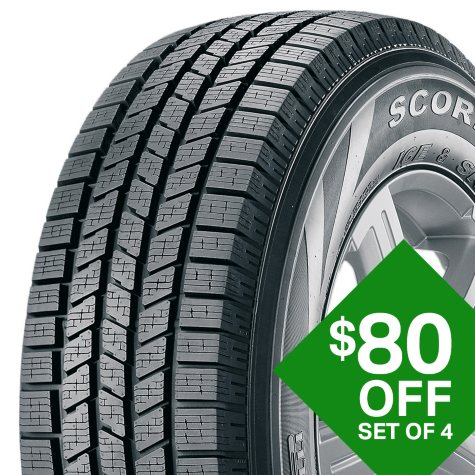 Pirelli Scorpion Ice - 275/45R20/XL 110V Tire