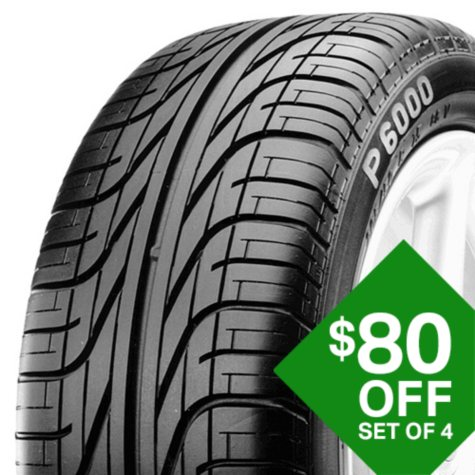 Pirelli P6000 - 185/70R15 89W Tire
