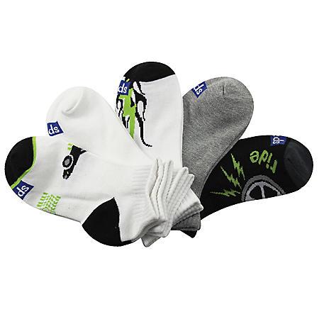 Keds 5 Pair + 1 Bonus Pack Socks - Ride