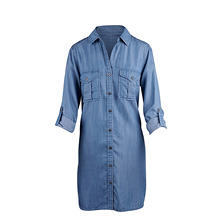 Philosophy Tencel Shirt Dress