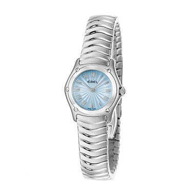 Ebel Women's Classic Wave Stainless Steel Case and Bracelet Quartz Watch